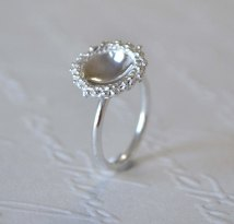 Sterling Silver Granulation Dome Ring